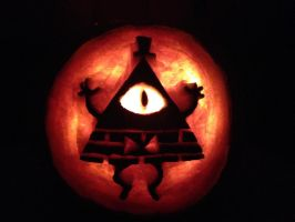Bill Cipher Jackolantern by AleximusPrime