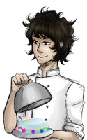 Restaurantstuck - Gamzee by KittyMaria