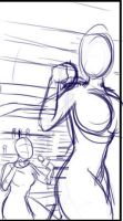 Hannah's Comic Preview Image 2-1 Rough Lines by Pettyexpo