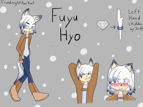 Fuyu Hyo, the Chaos Guardian of Snow by IronKnightKarkat