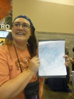 Ruth with her Quick drawing by Poorartman