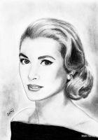 Grace Kelly by MalinTerese