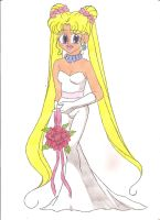 MUP - Wedding Gown by animequeen20012003
