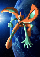 Full Deoxys Ultra by DavidDarck
