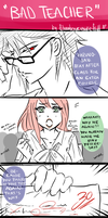 Bad Teacher. by Yui-Sakaino