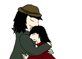 Freddy and his daughter Ruby^^ by ColdBlod23