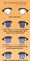 Eye Colouring Tutorial by pixelpoe