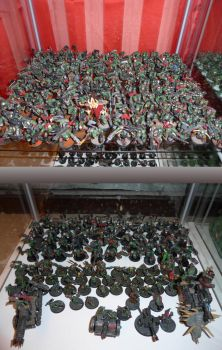 Orks: A lot of boys and grots by TheBl4ckCat
