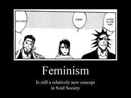 Bleach Motivational Feminism by Narutofan720