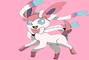 Sylveon by V-a-p-o-r-e-o-n
