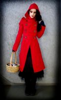 Red Riding Coat 4 by ByKato