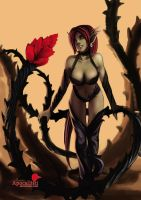 LoL Zyra by Apocallisti