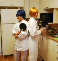 Working!! Satou and Souma! by Ryukai-MJ