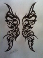 Tribal Wings by SouthernFatale