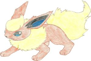 Flareon, third eeveelution by hellogoodbye1121