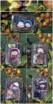 Owl Key rings now on Etsy! by demiveemon
