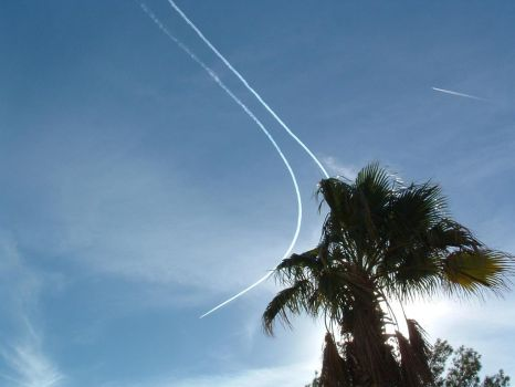 Vapor Trails In The Empty Air by seussman71