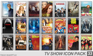 TV Show Icon Pack 33 by FirstLine1
