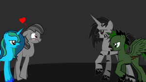 Viper meeting the Sins of Nightmare by The-Everlasting45
