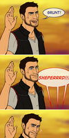 ME: SHEPERRRD by mythicbeast