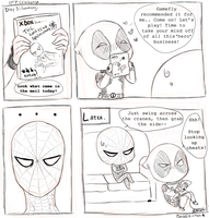 Video Games Spideypool by Baggie-chan