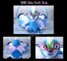 Baby Tooth Plush by LadyOgien