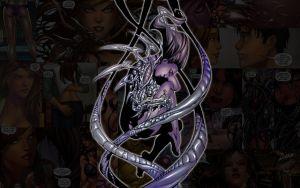 Witchblade.Alien by Troilus
