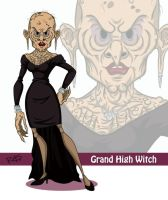 #13 The Grand High Witch by rickytherockstar