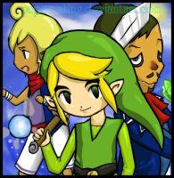 The Mighty Link- LoZ by paper-sting