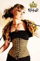 Leopard Print Dolly by Dolly-Q