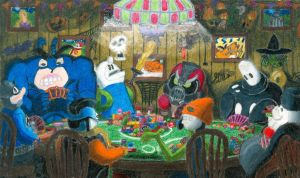 Candy Poker Fun Night by Sketchman147