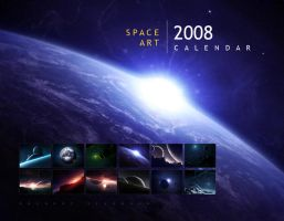 2008 Space Art Calendar by Baro