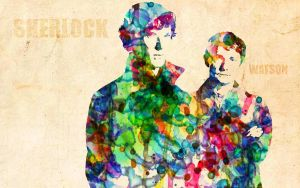 SHERLOCK: Watercolor Edition by ElijahVD