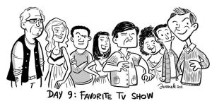 Day 9 - Favorite TV show by Juanele