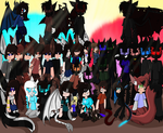 OC family picture! by sarahsuz