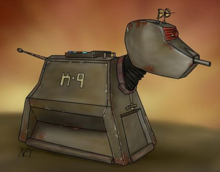 Corroded K9 by quarridors