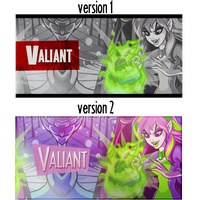 Valiant Banner DarkFaerie by Jagveress
