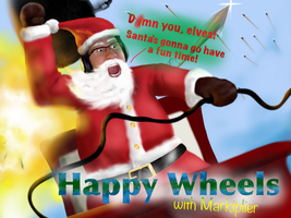 Happy Wheels with Markiplier by flyingGOPHER