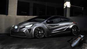 Ford Focus WTB 2010 round 1 by RibaDesign