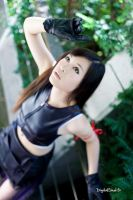 Tifa Lockhart from FF Advent Children 09 by YumiCosplay