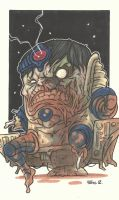 THE ZOMBIFICATION OF MODOK by leagueof1