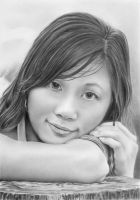 Pencil portrait of Sweet Hot Pie by LateStarter63