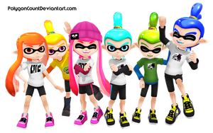 Inkling Rainbow by PolygonCount