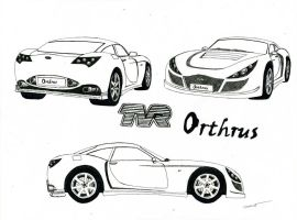0847 - TVR Orthrus 'concept' by TwistedMethodDan