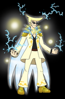 Shimmerus - The God of Light by pocket-arsenal
