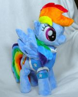 Winter Wrap up Rainbow Dash for SuzuOngaku by Cryptic-Enigma