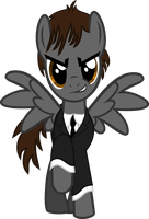 George Harrison Pony Vector by LonicHedgehog