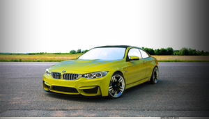 Bmw M4 Coupe 2014 by Artsoni3D