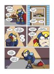 Despondent Mega Man - Flashback by JesseDuRona