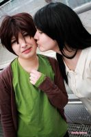 Snk - Eren and Carla by Fuwamii